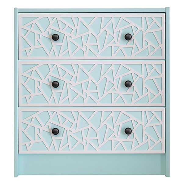 O'verlays Danika Kit for Ikea Rast 3 Drawer Chest