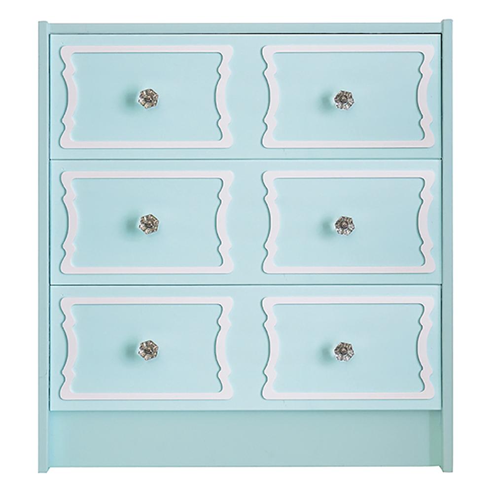 overlays deedee 6 panel kit for ikea rast 3 drawer chest - Ikea Rast