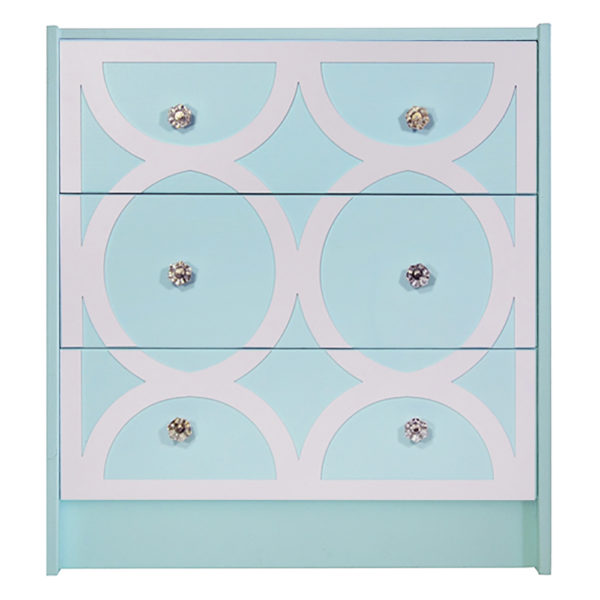 O'verlays Eloise 1 Kit for Ikea Rast 3 Drawer Chest