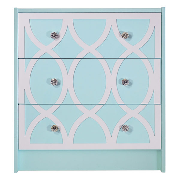 O'verlays Eloise 2 Kit for Ikea Rast 3 Drawer Chest