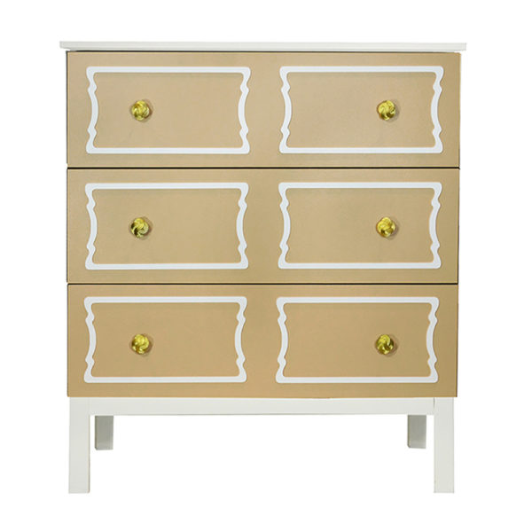 O'verlays DeeDee Double Kit for Ikea Tarva 3 Drawer Chest