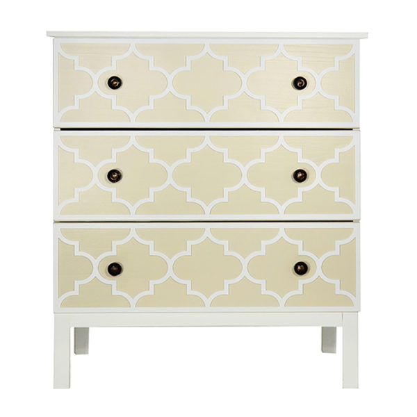 O'verlays Jasmine Kit for Ikea Tarva 3 Drawer Chest