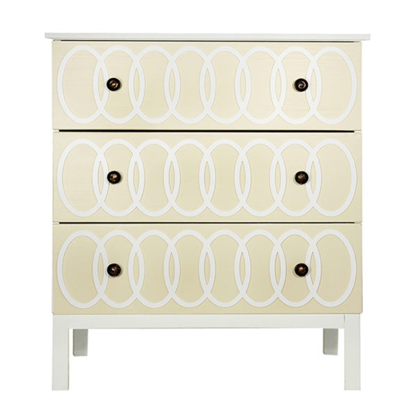 O'verlays O'livia Kit for Ikea Tarva 3 Drawer Chest