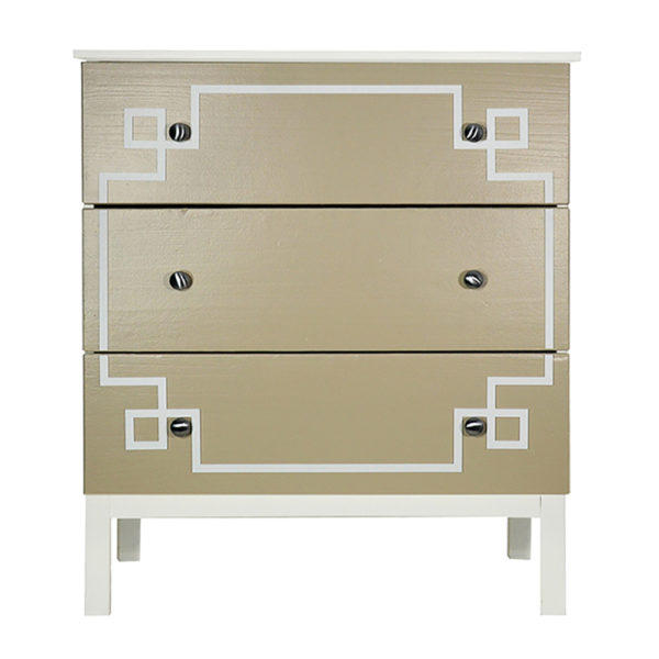 O'verlays Pippa #3 Kit for Ikea Tarva 3 Drawer Chest