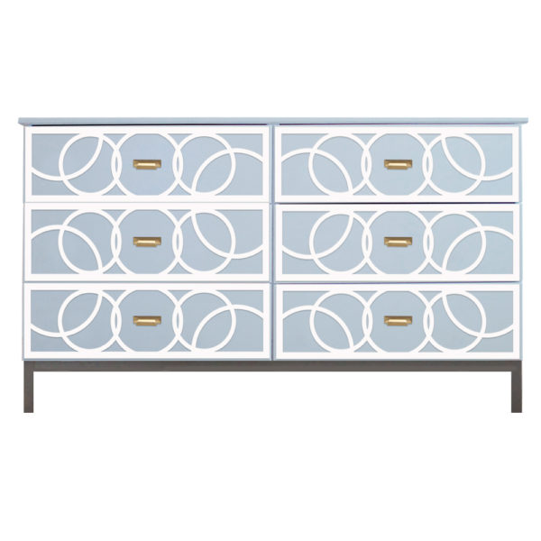 O'verlays Bubbles Kit for Ikea Tarva 6 Drawer Chest