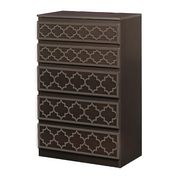 O'verlays Jasmine Kit for Ikea Kullen 5 Drawer Chest