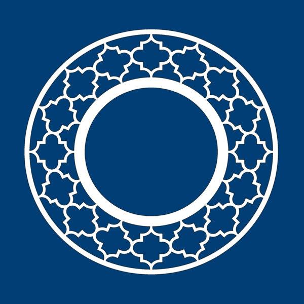 jasmine- round -circle -frame