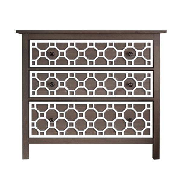 O'verlays Ruby Kit for Ikea Hemnes 3 drawer dresser