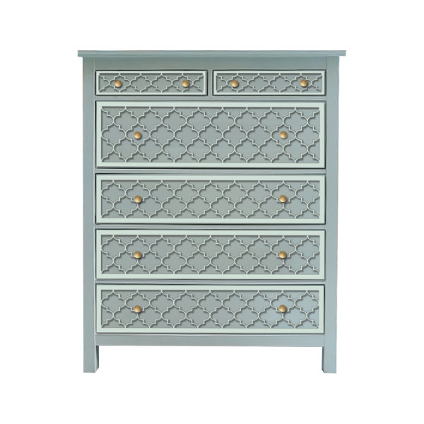 O'verlays Jasmine Kit for Ikea Hemnes 6 Drawer Chest