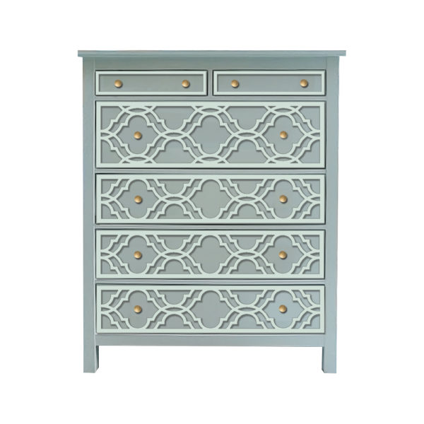 O'verlays Khloe-Rex Kit for Ikea Hemnes 6 drawer chest.