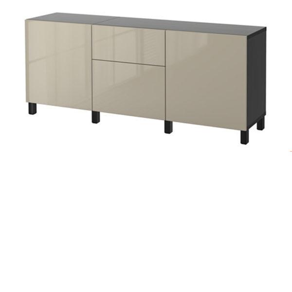SHOP Kits for Besta 4 door-drawer unit