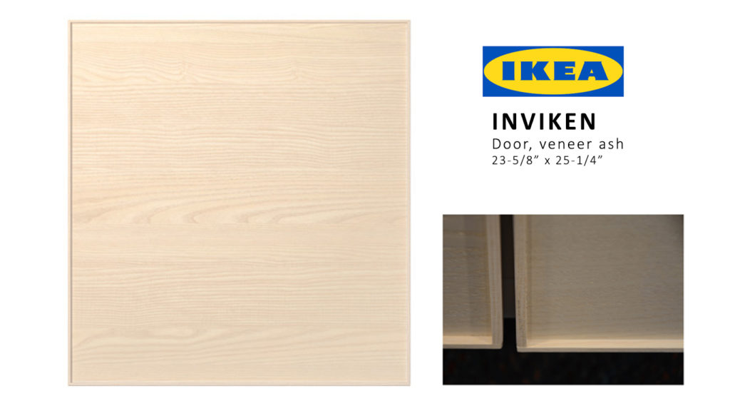 ... Ikea Besta door designs u2013 the INVIKEN door. The small trim around the Inviken (see inset below) provides a nice space for the Ou0027verlay to fit snugly ...  sc 1 st  Ou0027verlays & Get the Look with Metal Effects Ou0027verlays and Ikea Besta Inviken ...