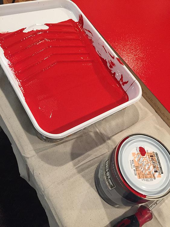 red,paint,door,christmas,blog
